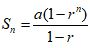 Rumus Deret Geometri 2