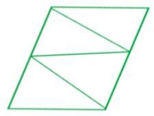 Soal Matematika Kelas 2 SD Rangkaian Segitiga