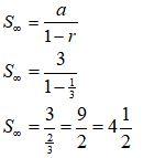 Contoh Soal Deret Geometri Tak Hingga 2